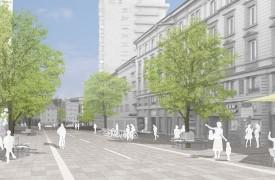 Visualisierung Straßenansicht